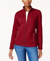 Karen Scott Quilted Active Jacket, Created for Macy's