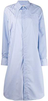 A.F.Vandevorst Dexter striped shirt dress