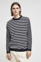 Super Fine Breton Stripe Top