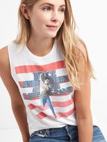 Gap Music graphic muscle tank