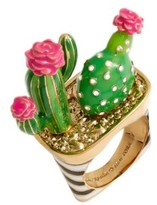 Kate Spade Women's Scenic Route Cactus Ring