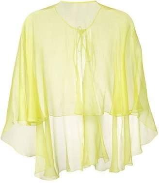 Maria Lucia Hohan Hohan cape blouse
