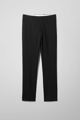 Weekday Bodie Suit Trousers - Black