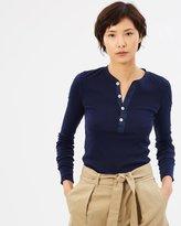 Polo Ralph Lauren LS Henley Knit T-Shirt