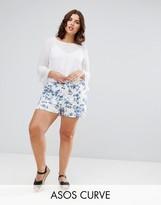 Asos Floral Culotte Shorts