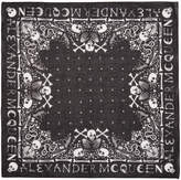 Alexander McQueen Black Skull Bandana