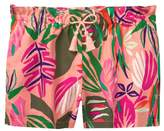 Crazy 8 Palm Paper Bag Shorts