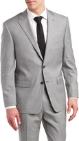 Austin Reed Classic Fit Suit With Flat Front Pant