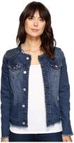 Jag Jeans Lori Jacket in Thorne Blue Crosshatch Denim