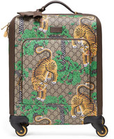 Gucci Bengal GG Supreme Carry-On Trolley, Beige