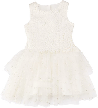 Charabia Special Occasion Tulle Dress, Size 10-12
