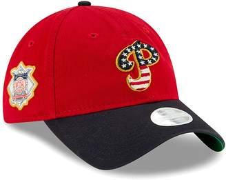 New Era Women's Red Philadelphia Phillies 2019 Stars & Stripes 4th of July 9TWENTY Adjustable Hat