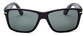 Persol Men's Polarized Square Sunglasses, 58mm