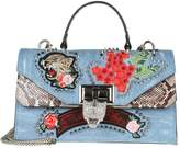 Philipp Plein sara Hand Bag With Embroidery And Applied Studs
