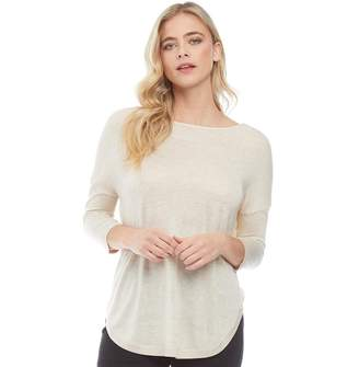 Only Womens Mary String Jumper Pumice Stone Melange