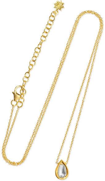 Amrapali Kundan 18-karat Gold Diamond Necklace