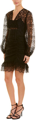 Self-Portrait Sheath Dress