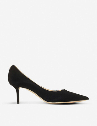 Jimmy Choo Love 65 suede courts