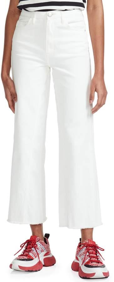 28 31 $235 29 Paige Brigitte  Cropped Boyfriend Denim Blue Jeans Sizes 26 30