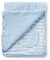 Starting Out Baby Boys Blue Moon Striped Blanket
