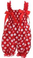 Itaar® Itaar Baby Girls Jumpsuit Romper with Headband Bowknot Summer Climbing Clothes Floral Dress