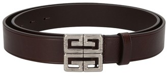 Givenchy 4G leather belt