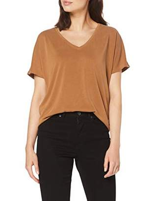 S'Oliver BLACK LABEL Women's 11.908.32.7652 T-Shirt, (Black 9999), 8 (Size: )