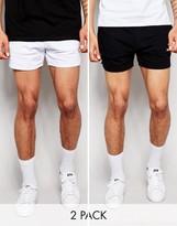 Asos Jersey Runner Shorts 2 Pack