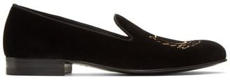 Gucci Black Glauco Loafers