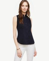 Ann Taylor Sleeveless Perfect Shirt