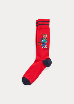 Ralph Lauren Tiger & Argyle Sock 2-Pack