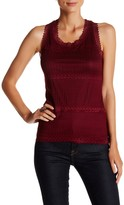 Romeo & Juliet Couture Lace U-Neck Tank