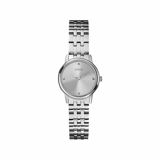 GUESS Womens Analogue Classic Quartz Watch with Stainless Steel Strap W0687L1