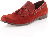 Kenneth Cole Wake-Up Call Kiltie Loafer, Antique Red