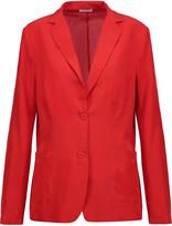 Tomas Maier Silk-crepe blazer