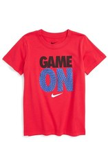 Nike Toddler Boy's Game On Graphic T-Shirt