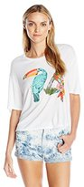 Juicy Couture Black Label Women's Knt Toucan 74 Graphic Tee