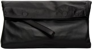Ann Demeulemeester Black Folded Clutch
