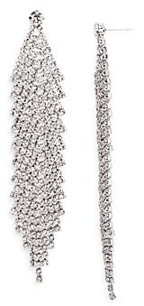 Aqua Pave Chandelier Earrings - 100% Exclusive