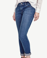 Ann Taylor Tall Boyfriend Denim Jeans