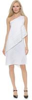 Zero Maria Cornejo Block Lace Spiral Dress