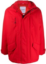 Martine Rose Napa By layered rain jacket