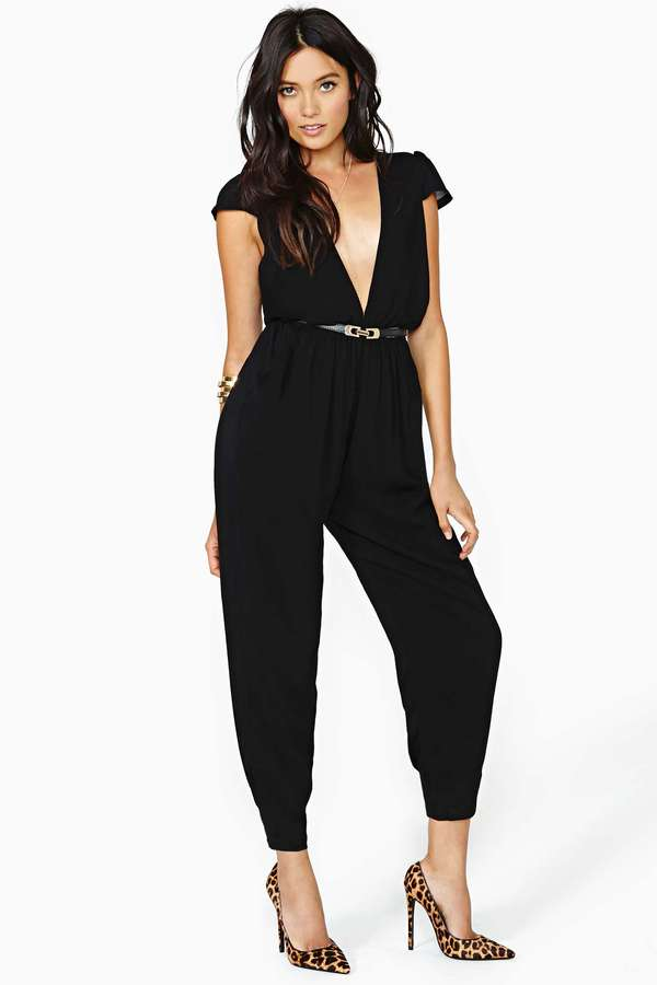 Nasty Gal Reverse Hot Natured Jumpsuit