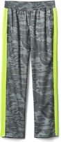 Gap GapFit kids mesh-stripe pants