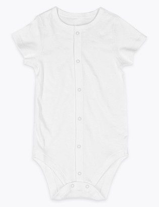 Marks and Spencer Adaptive Pure Cotton Bodysuit (7lbs-10 Yrs)