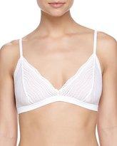 Cosabella Dolce Soft-Lace Bra, White