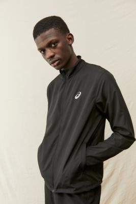 Asics Black Performance Shell Jacket - Black S at Urban Outfitters
