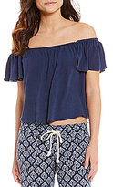 Roxy Princess In The Sea Off-The-Shoulder Top