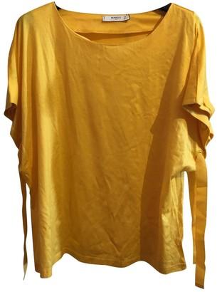 MANGO Yellow Top for Women