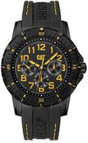 CAT PV1 Multifunction Men's Analog Watch with Yellow PV16921117